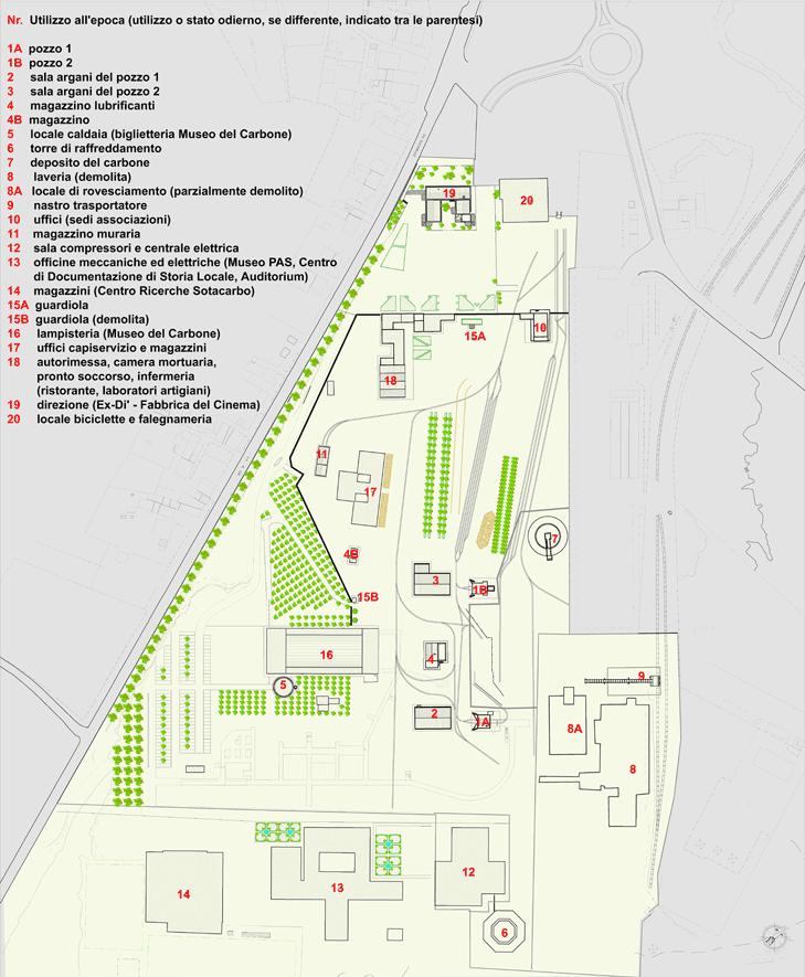 Grande Miniera di Serbariu Mappa