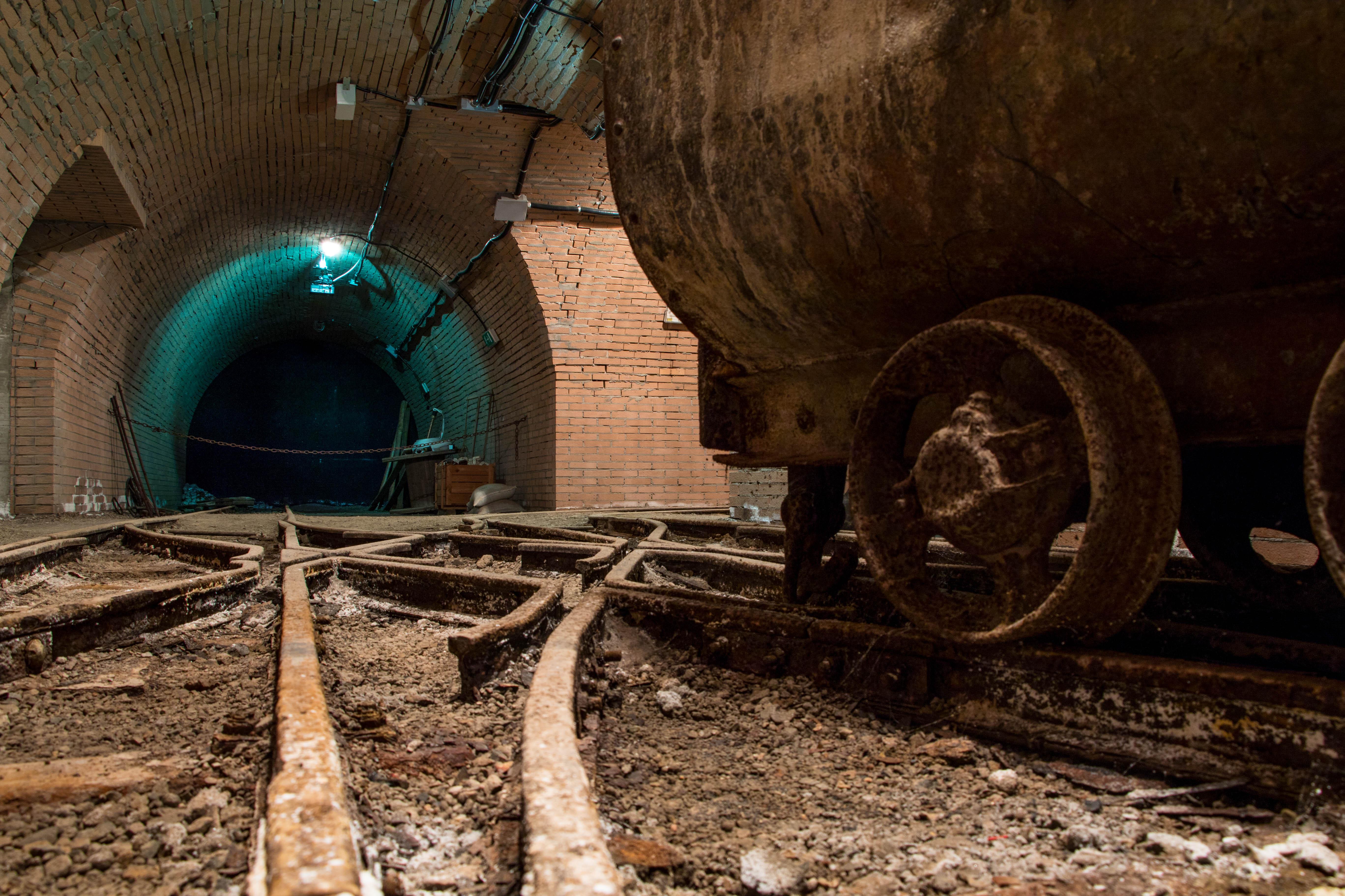 Galleria sotterranea, ricetta - Museo del Carbone - Grande Miniera di Serbariu, Carbonia