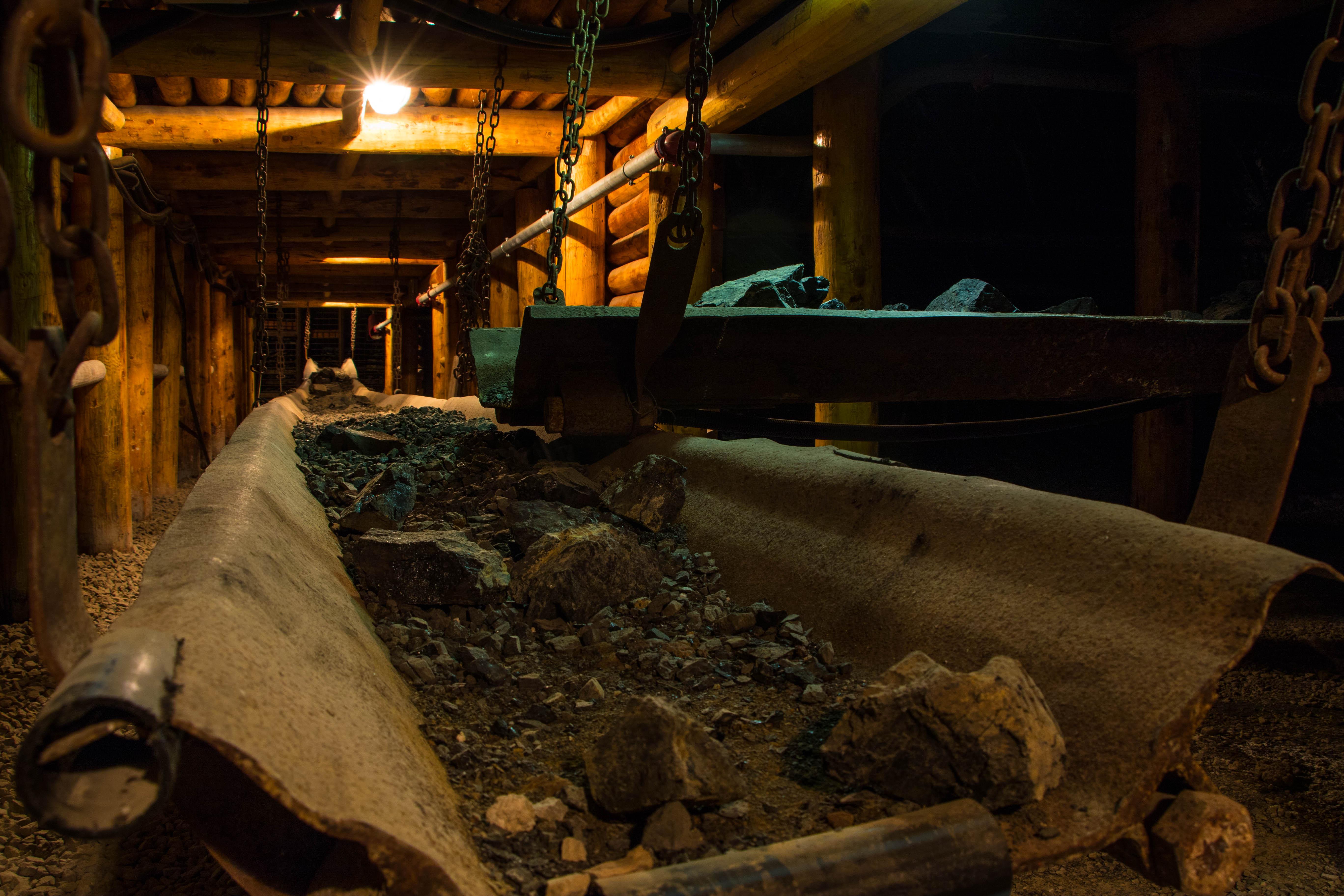 Galleria sotterranea - Museo del Carbone -Grande Miniera di Serbariu, Carbonia